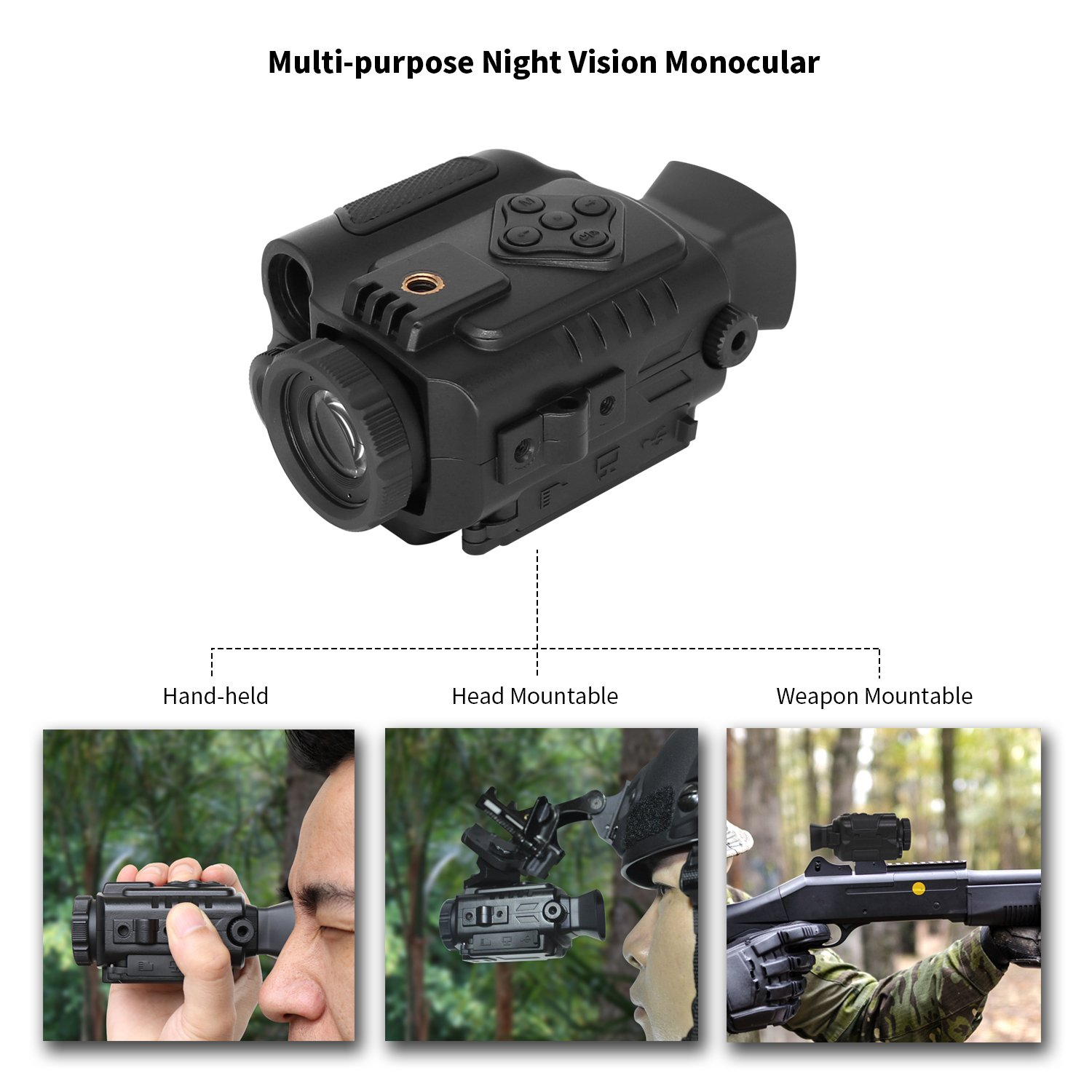 Mini Night Vision Monocular pic-2
